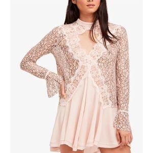 New* Free People lace tunic